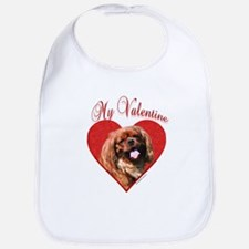 English Toy Valentine Bib