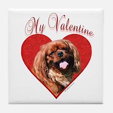 English Toy Valentine Tile Coaster