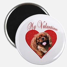 English Toy Valentine Magnet