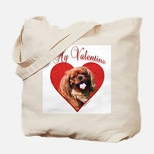 English Toy Valentine Tote Bag