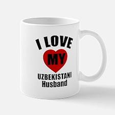 I Love My Uzbekistani Husband Mug
