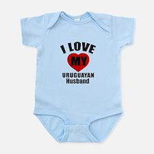 I Love My Uruguayan Husband Infant Bodysuit