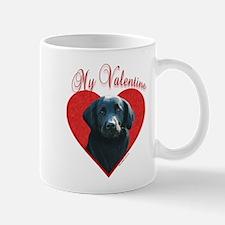 Flat-Coat(blk)Valentine Mug