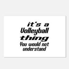 It Is Volleyball Thing Y Postcards (Package of 8)