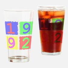 1992 Drinking Glass