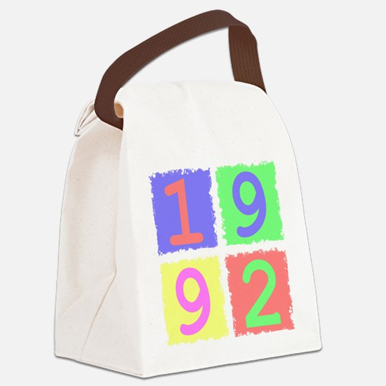 1992 Canvas Lunch Bag