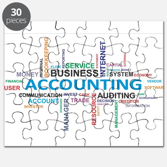 word cloud - accounting Puzzle