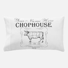 Vintage Chophouse Pillow Case