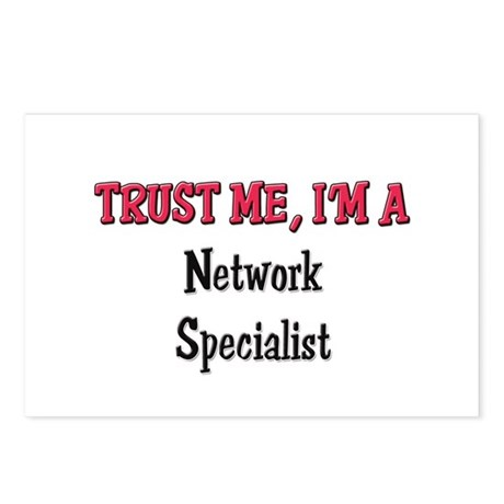 Trust Me I'm a Network Specialist Postcards (Packa