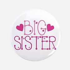 Heart Big Sister Button