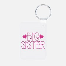 Heart Big Sister Keychains