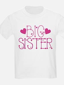 Heart Big Sister T-Shirt