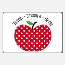 Teach Inspire Grow Banner