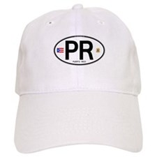 Puerto Rico Euro Oval Baseball Cap