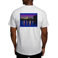 Sacramento sunset Ash Grey T-Shirt