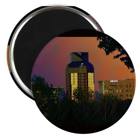 Sacramento sunset Magnet