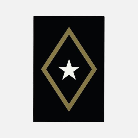 Phi Gamma Delta Badge Rectangle Magnet