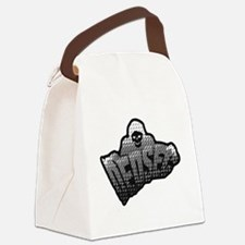 Funny Game over Canvas Lunch Bag