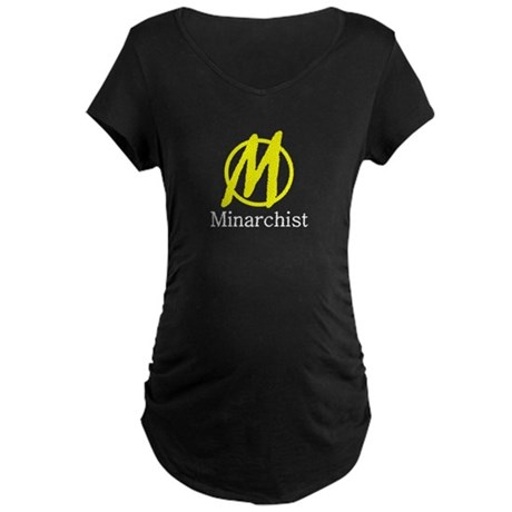 Minarchist Maternity Dark T-Shirt
