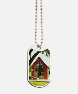 Cute House Dog Tags