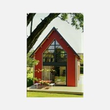 Cute House Rectangle Magnet