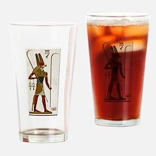 Montu God of War Drinking Glass