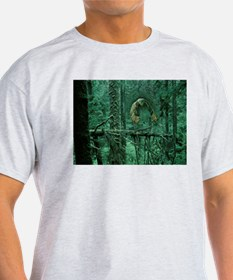 Green Woods Owl T-Shirt