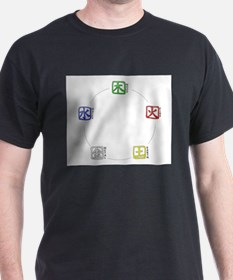 wuhing_elements_mousepad T-Shirt