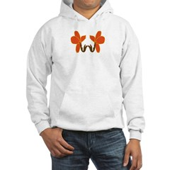 Orange flowers Hoodie
