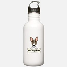 Personalized Bull Terr Sports Water Bottle