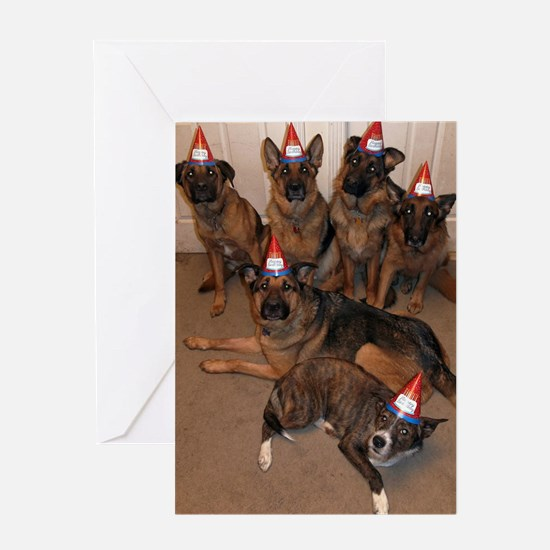 Funny Terrier birthday Greeting Card