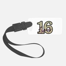 Golden Sweet 16 Luggage Tag