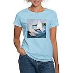 White Trumpeter Pigeons Women's Light T-Shirt