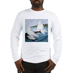 White Trumpeter Pigeons Long Sleeve T-Shirt
