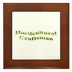 Horticultural Craftsman Framed Tile