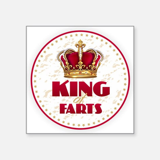 KING of FARTS Sticker