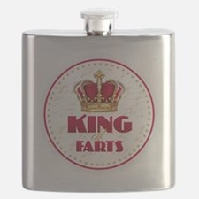 KING of FARTS Flask