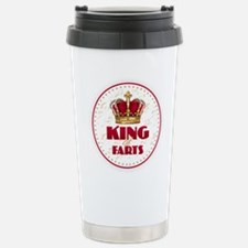 KING of FARTS Stainless Steel Travel Mug