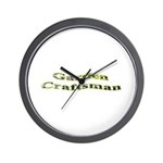 Garden Craftsman Wall Clock