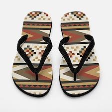 Navajo Southwestern Flip Flops