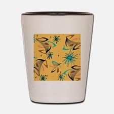 Mid Century Modern Pattern Shot Glass