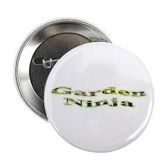 """Garden Ninja 2.25"""" Button"""