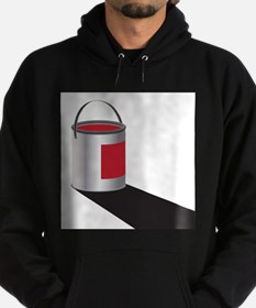 Paint Can Red Sweatshirt