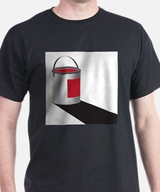 Paint Can Red T-Shirt