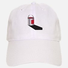 Paint Can Red Baseball Baseball Cap