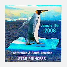 Antarticia & South America 2008 - Tile Coaster