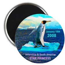 Antarticia & South America 2008 - Magnet