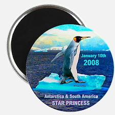 Antarticia & South America 2008 - Magnet