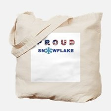 Proud Snowflake Tote Bag
