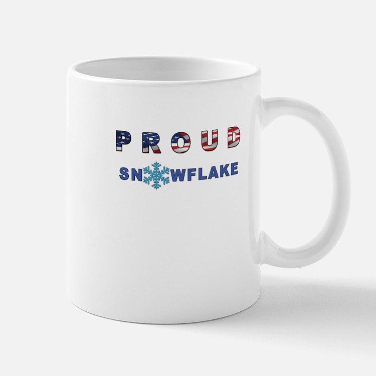 Proud Snowflake Mugs